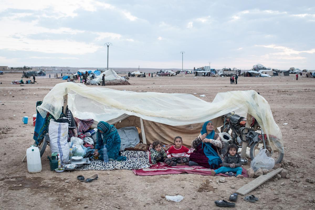 Refugiados Guerra Siria