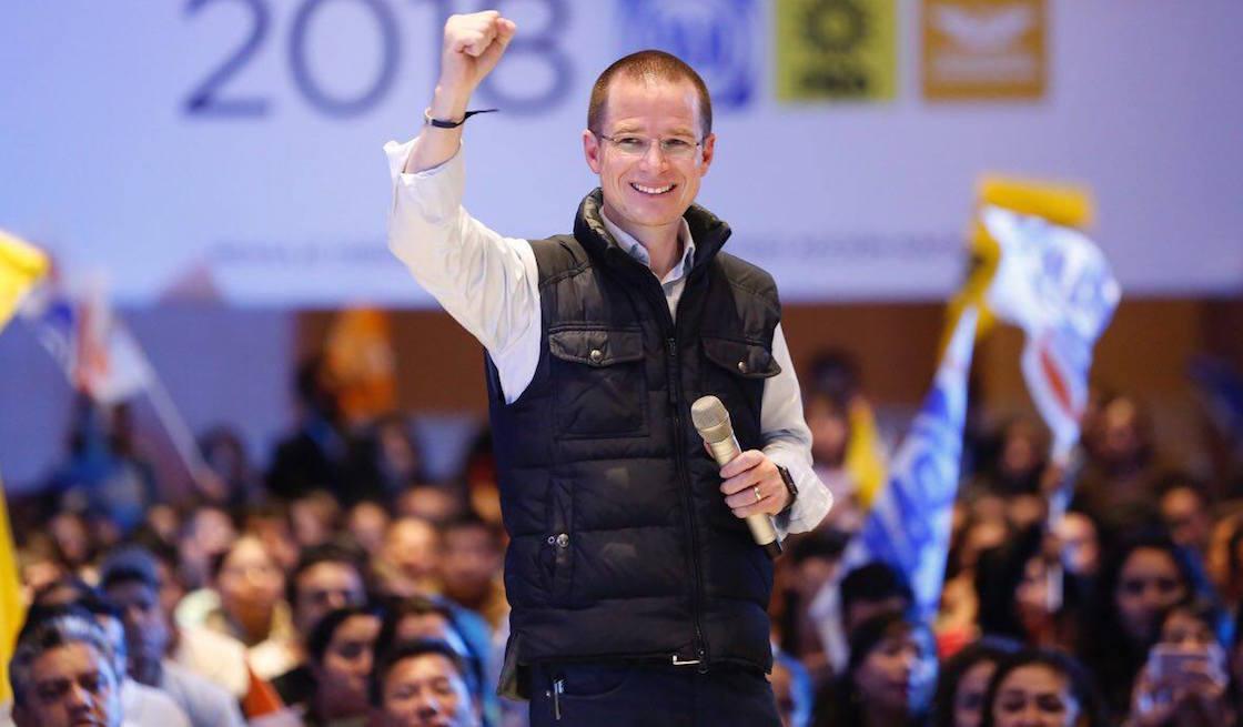 Ricardo Anaya Cortés, precandidato del Frente, acusa persecución por parte del CISEN