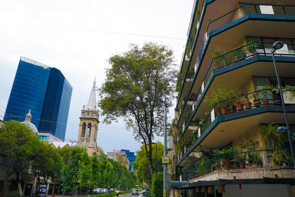 Colonia hipster en la Ciudad de México