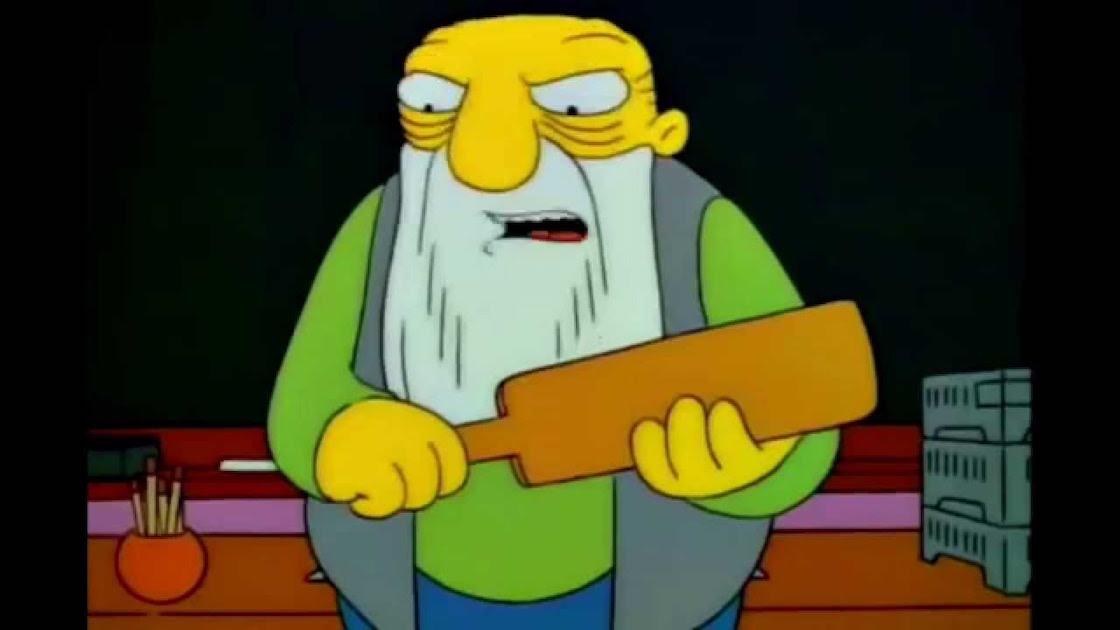 """Los Simpson: """"Hay tabla"""""""