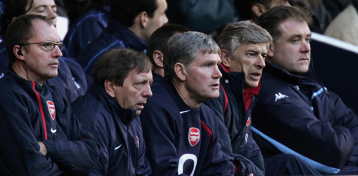 Arsene Wenger Arsenal 2004