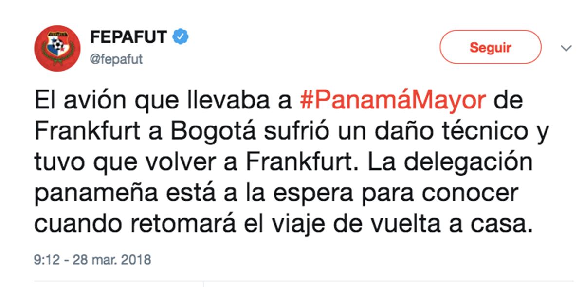 Avión de Panamá