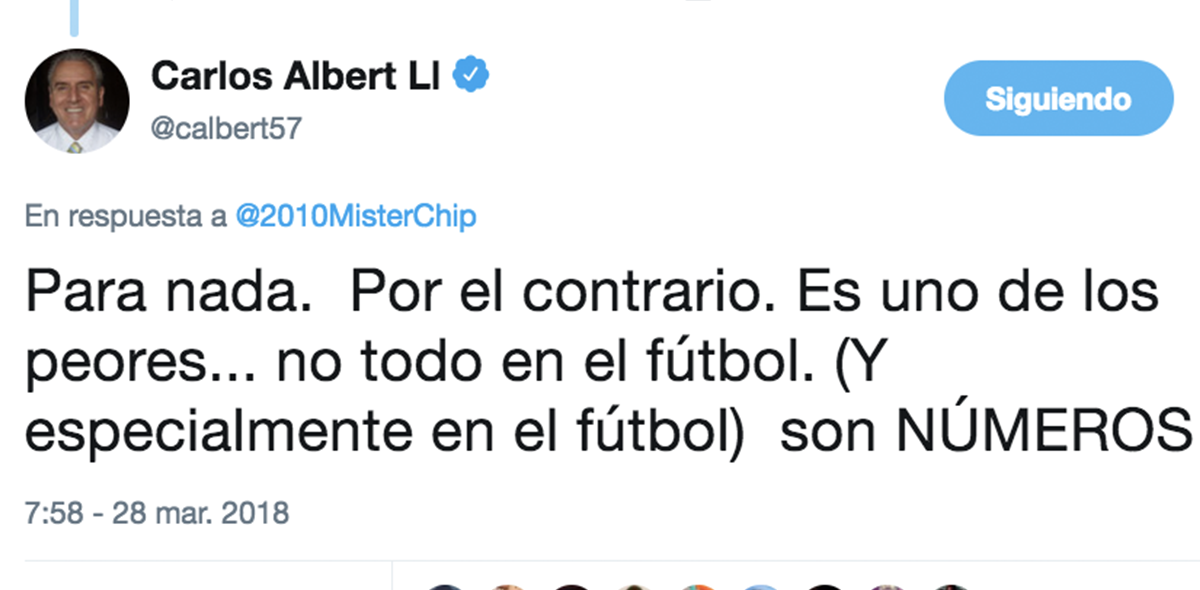 Carlos Albert vs Mister Chip