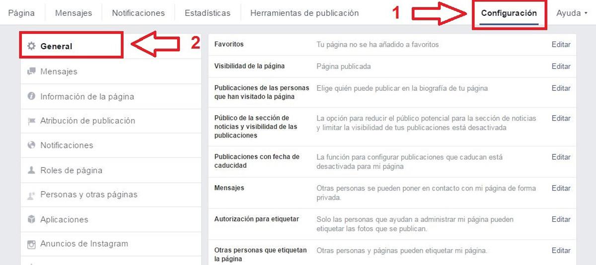 Como Descargar Información de Facebook