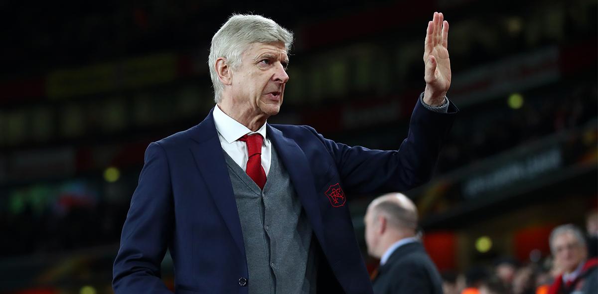 Arsene Wenger 21 años Arsenal
