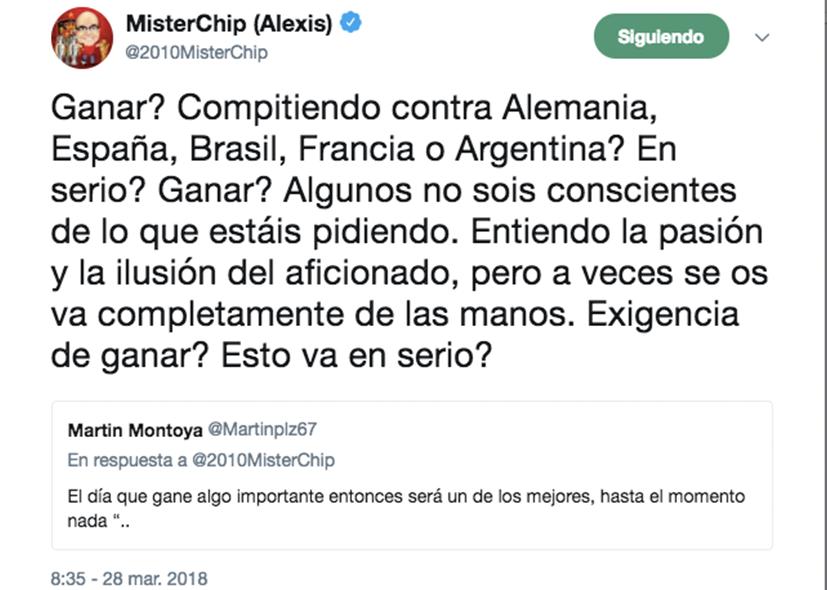 México y Mister Chip