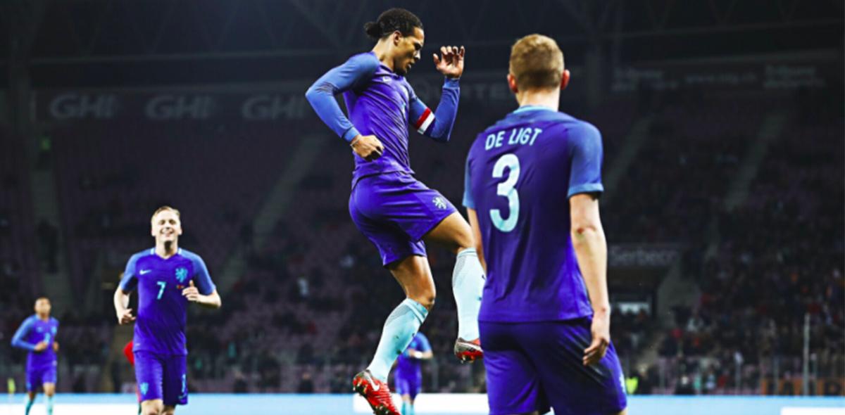 Van Dijk anotó contra Portugal