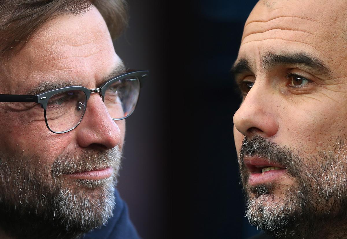 Jurgen Klopp del Liverpool enfrentará a Pep Guardiola del Manchester City en los Cuartos de Final de la UEFA Champions League