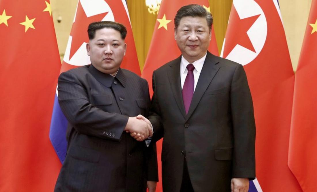 Kim Jong un se reunió con el presidente de China Xi Jinping