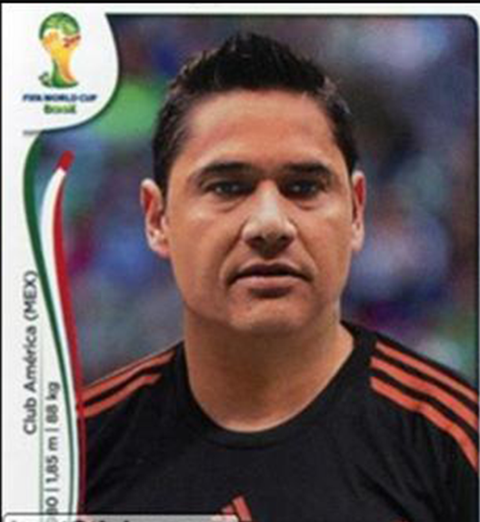 Moisés Muñoz Panini Brasil 2014