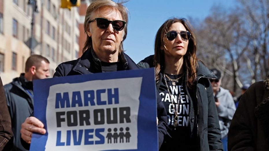 Paul Mccartney en March for our lives