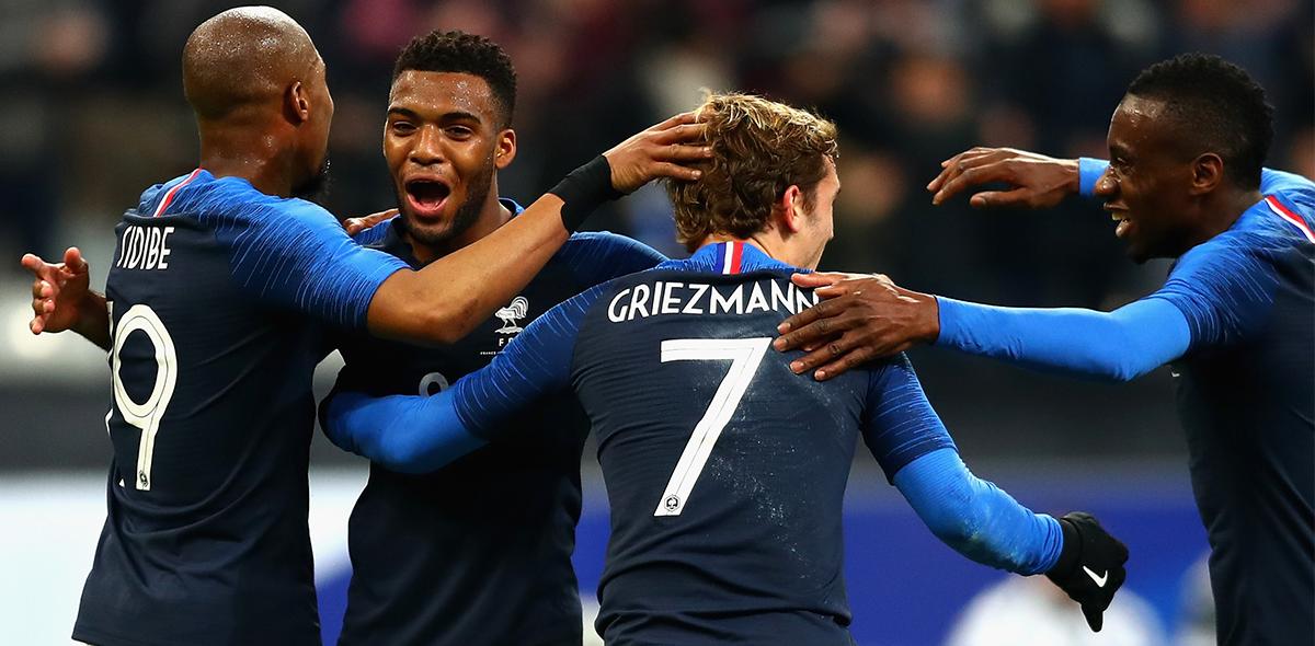 Francia enfrentará a Rusia