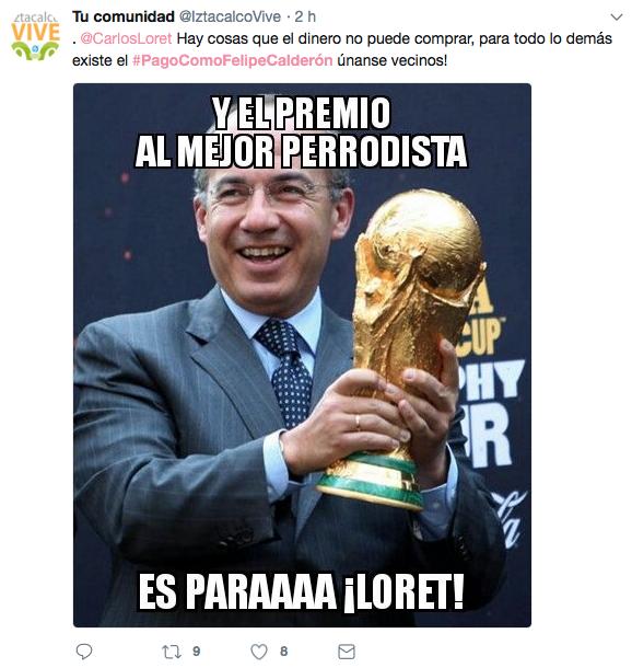 # Pago Como Felipe Calderón