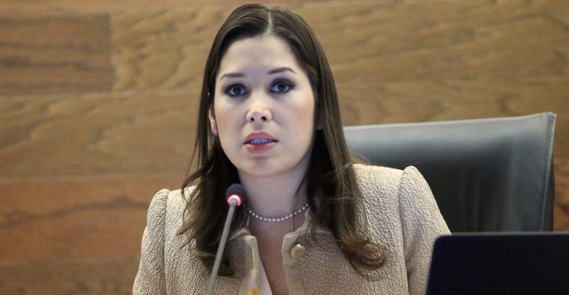 Ximena Puente, comisionada del INAI