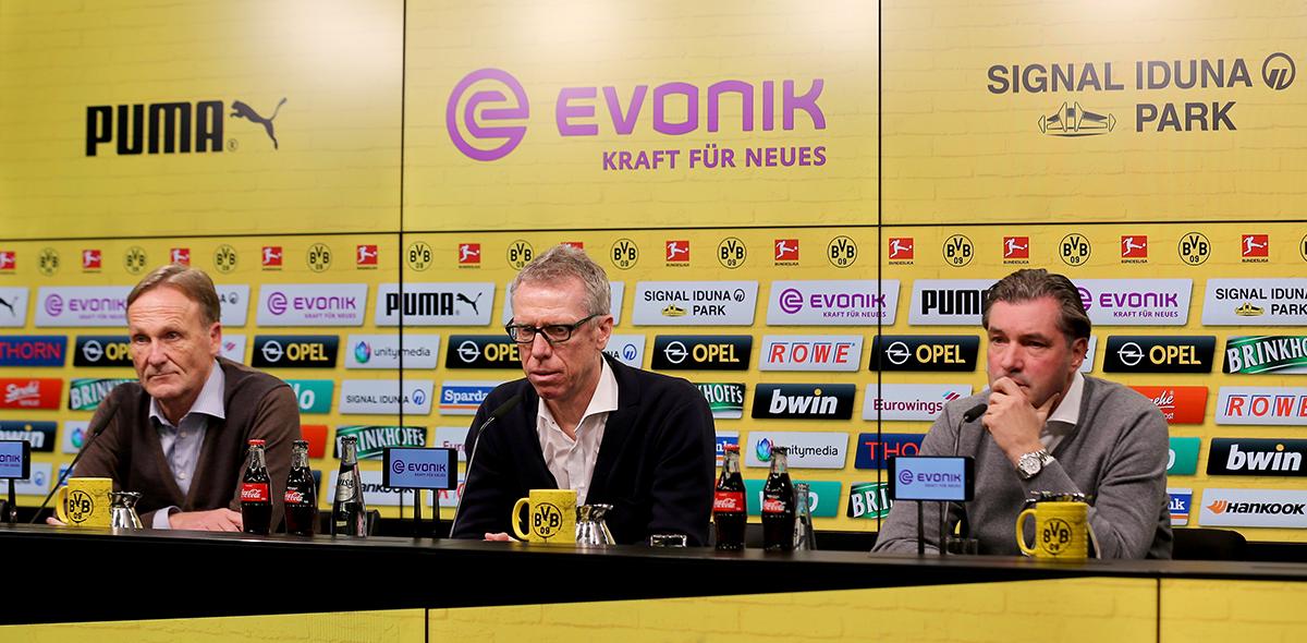 Zorc hace los fichajes del Dortmund
