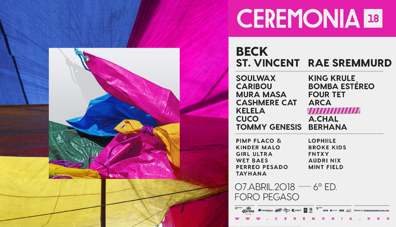 cartel ceremonia 2018