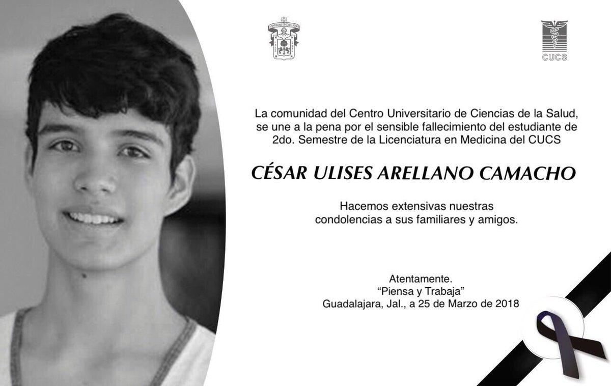 Encuentran cuerpo de César Ulises, uno de los estudiantes desaparecidos de Guadalajara