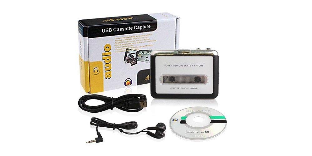 ¡Dame 10! Este aparato convierte la música de tus casettes en formato MP3