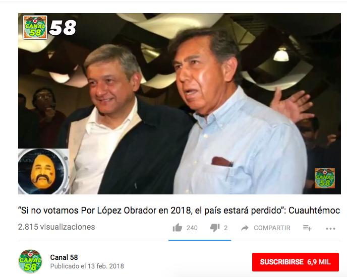 Cuauhtémoc Cárdenas y la frase falsa sobre AMLO