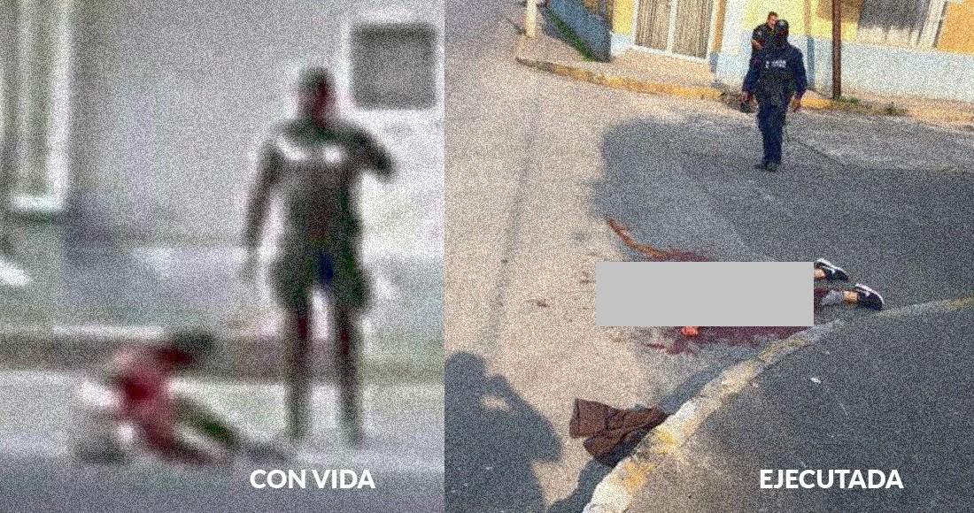 Antes y después de detención de menor en Río Blanco, Veracruz