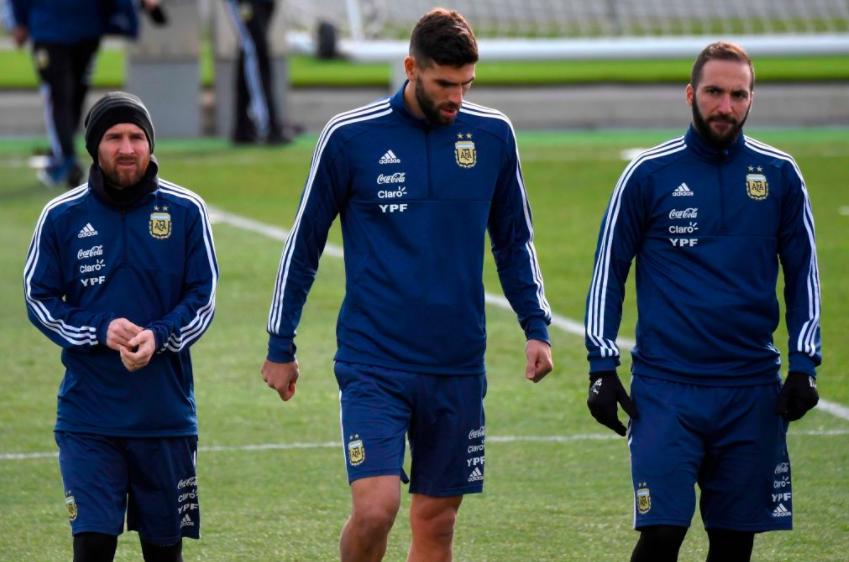Argentina-entrenamiento-Real.Madrid-Messi