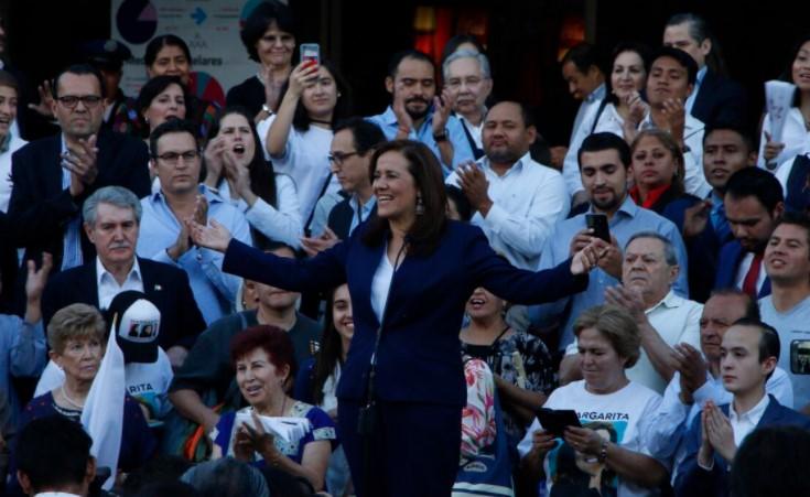 Margarita Zavala, solicitud de registro