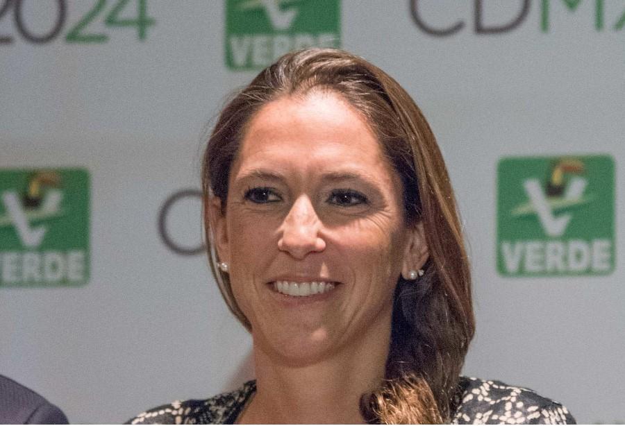 Mariana Boy, candidata del Partido Verde a la CDMX