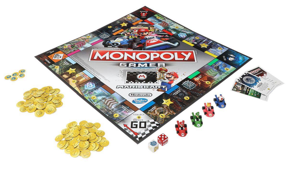 ¡Tomen todo mi dinero! Ya hay Monopoly de Mario Kart