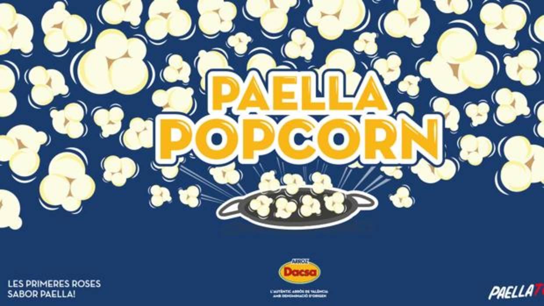 Palomitas sabor paella