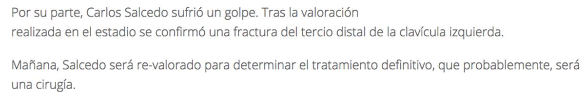 Reporte Salcedo