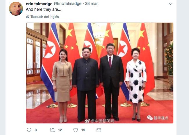 Kim Jong un se reúne con Xi Jinping