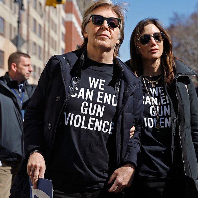 Así protestaron las celebridades en el #MarchForOurLives, para regular el acceso a las armas en Estados Unidos