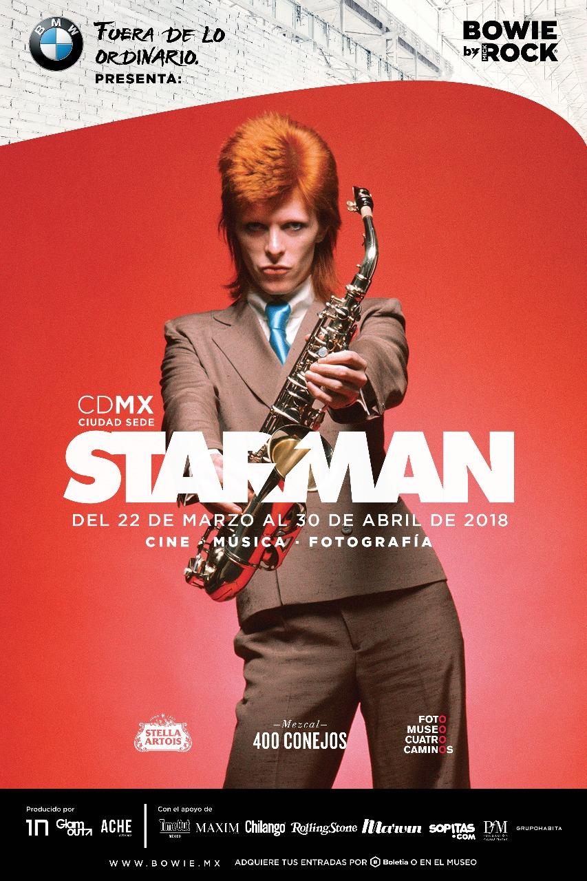 razones para ver STARMAN, exposición de David Bowie en México