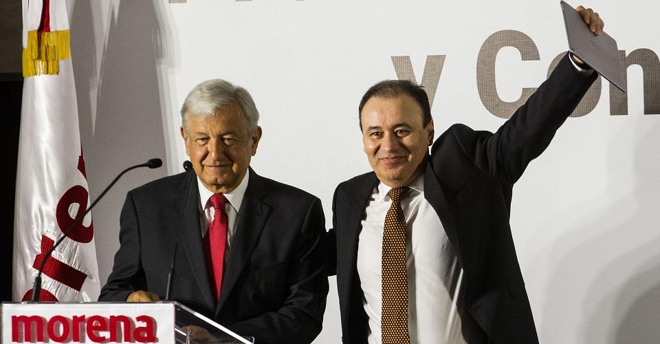 Alfonso Durazo y AMLO