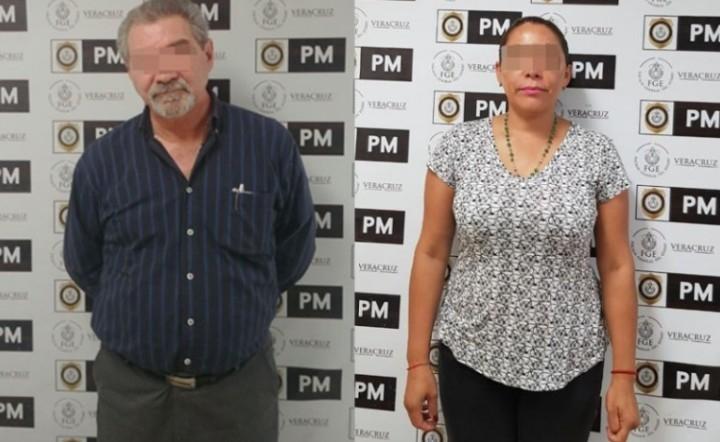 Carlota Zamudio y Gilberto Aguirre
