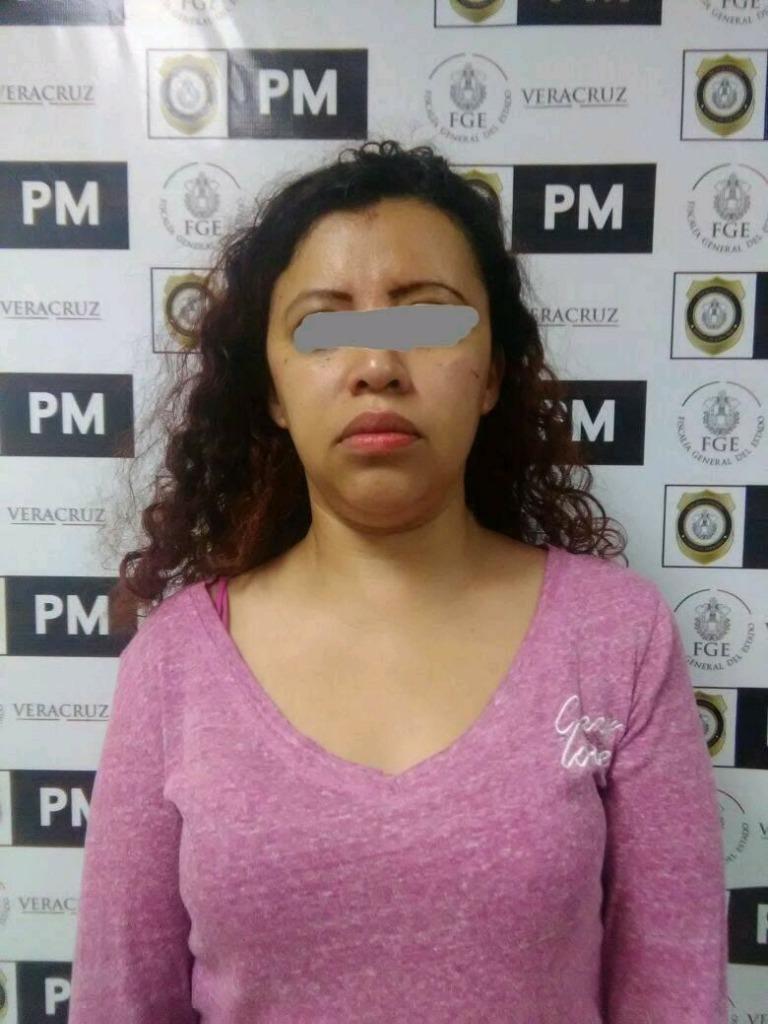 Detenida María del Rosario Zamora