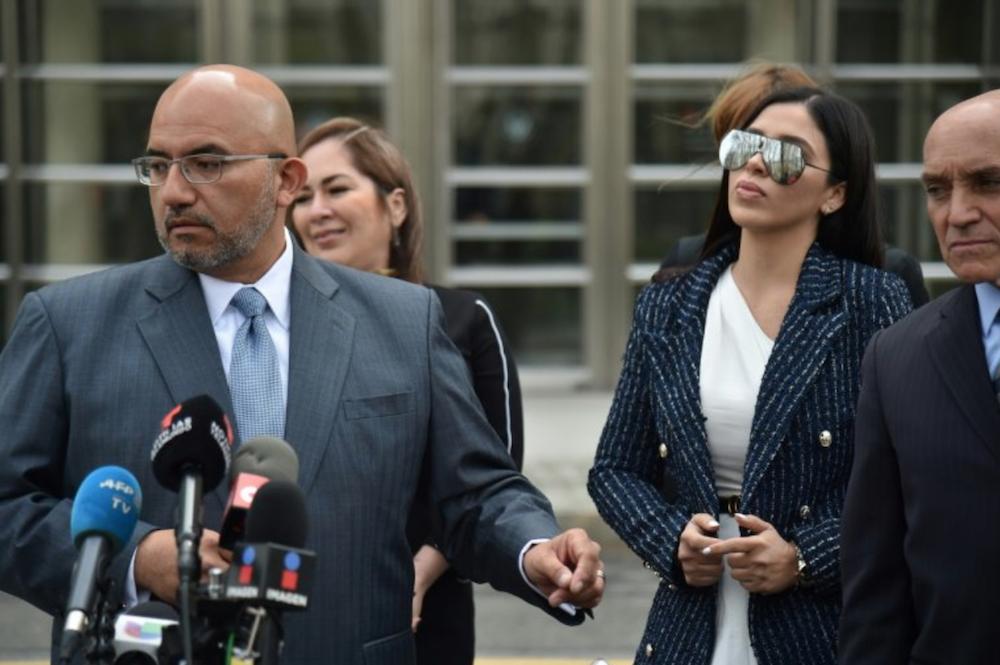 Emma Coronel conferencia de prensa Chapo Guzmán