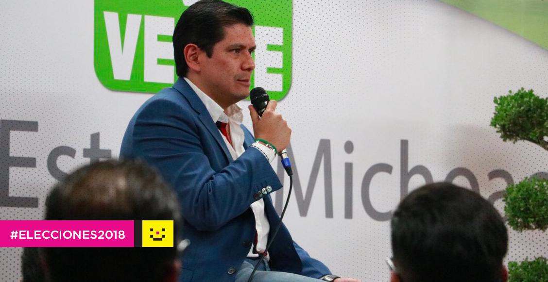 Ernesto Núñez Aguilar candidatos del PVEM en Tierra Caliente renuncian