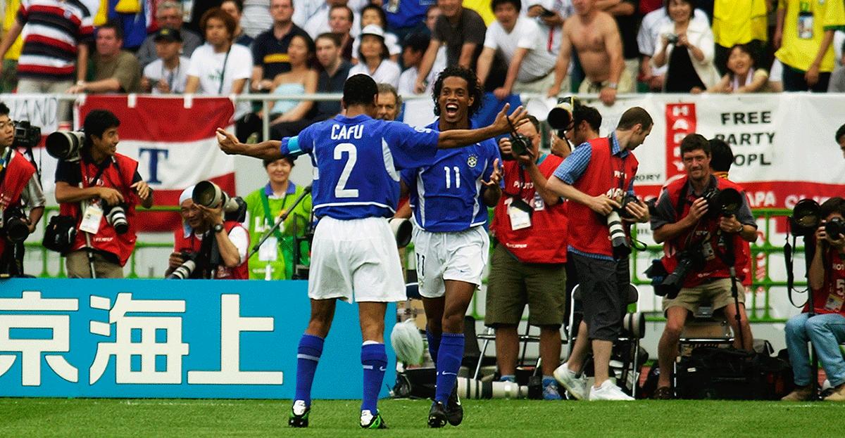 Gol Ronaldinho 2002