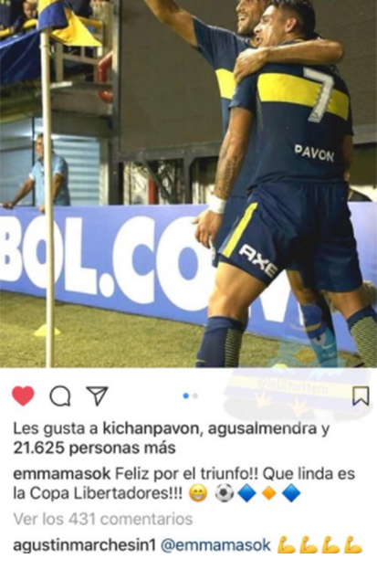 Marchesín sigue a Boca Juniors
