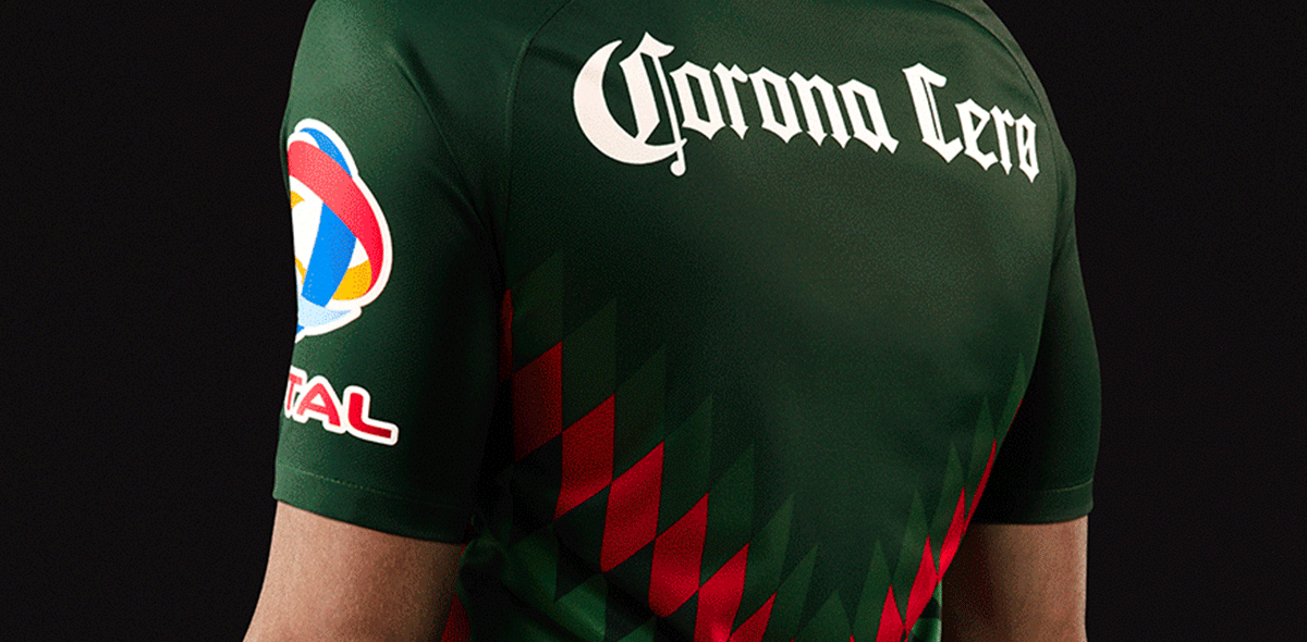 Pasión tricolor! América presentó su uniforme mundialista 99bdfce548640