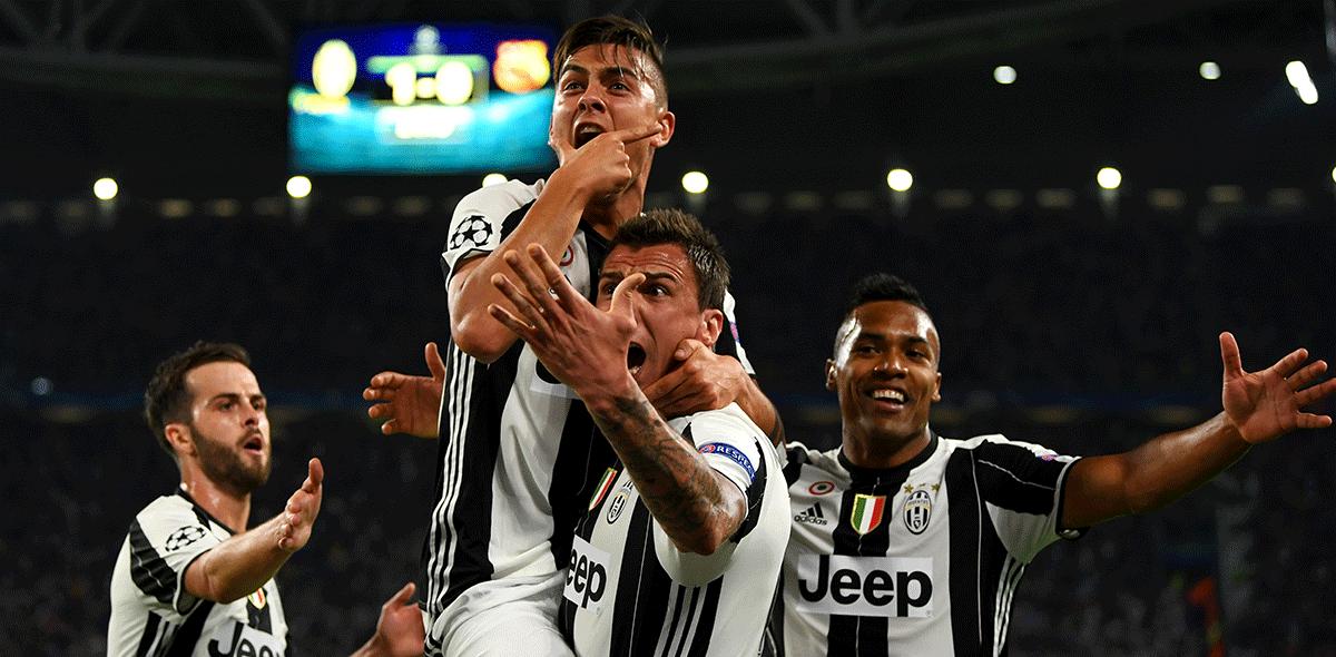Juventus goleó al Barcelona