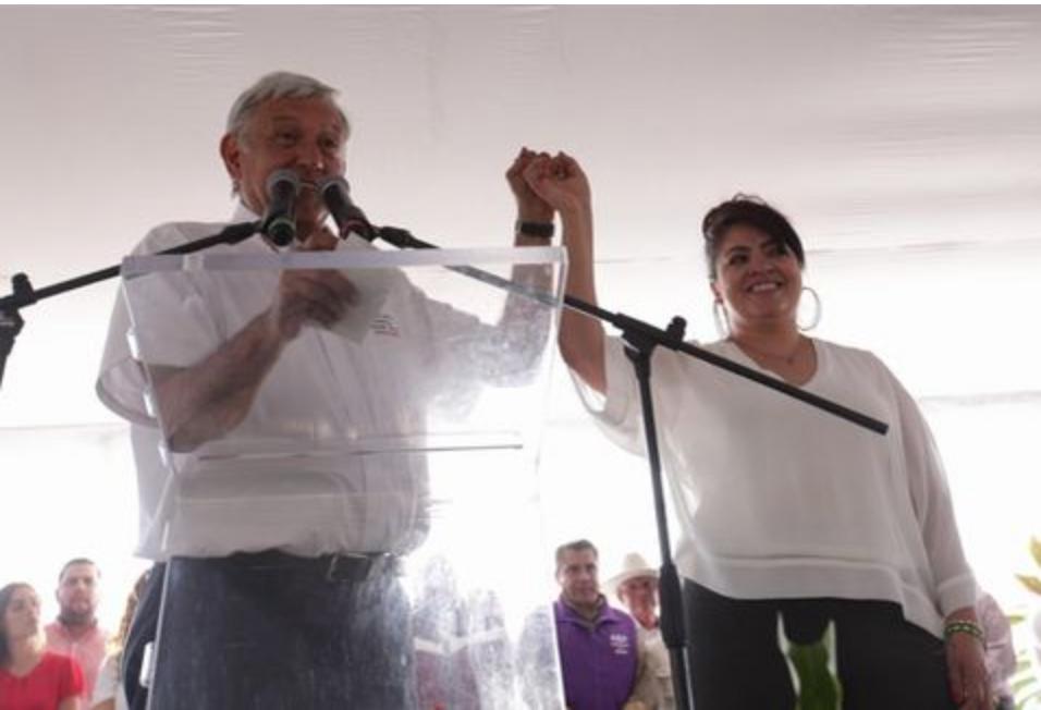 López Obrador defiende candidatura de Nestora Salgado