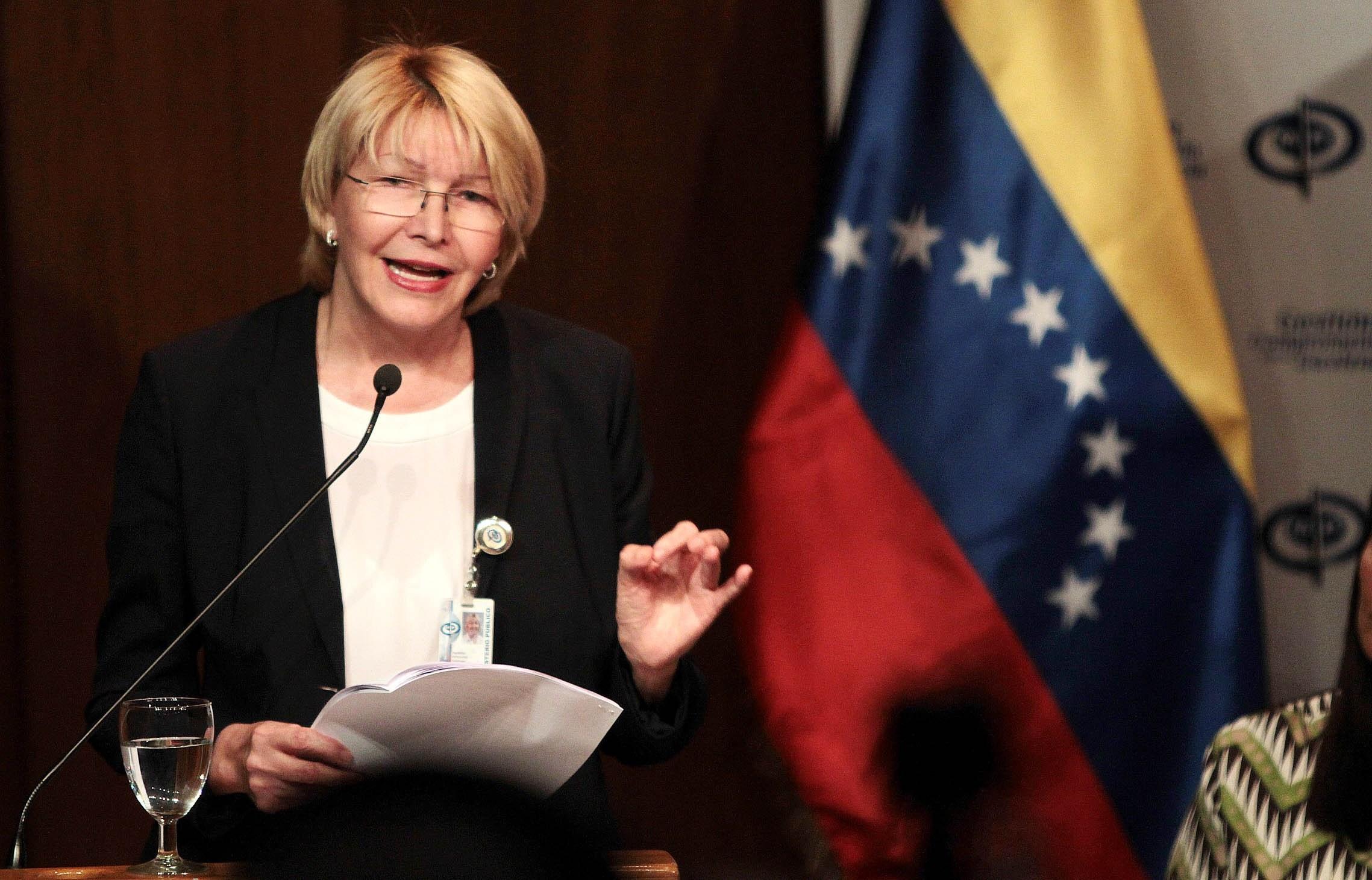 Luisa Ortega, exfiscal de Venezuela.