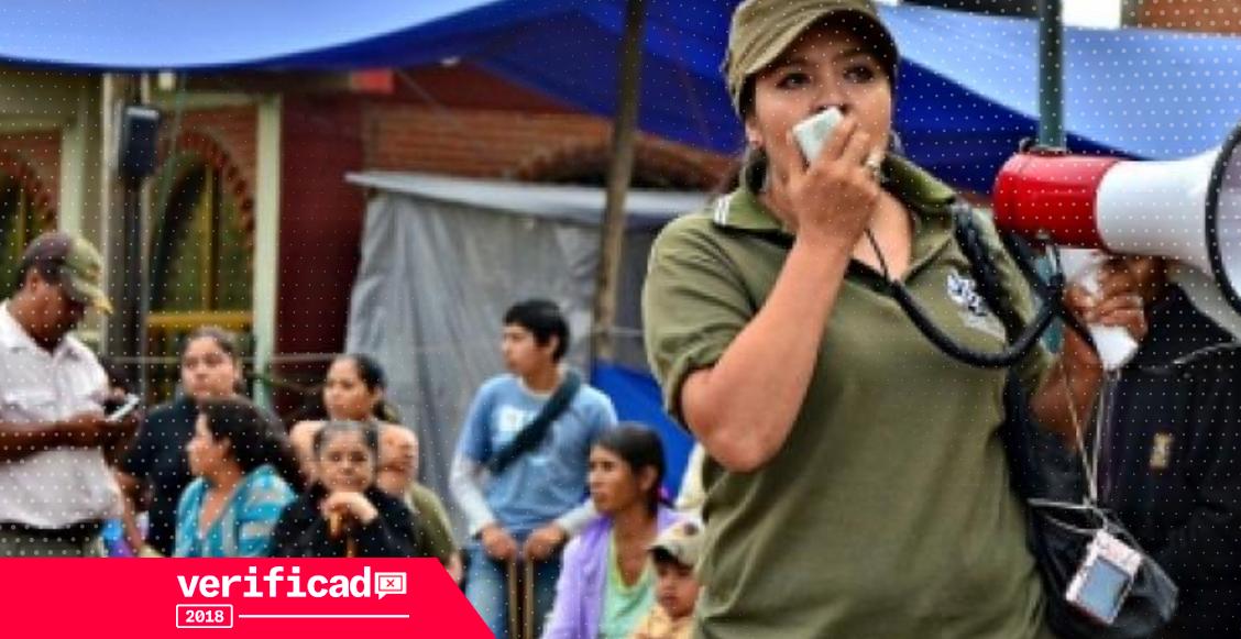 Nestora Salgado elecciones 2018