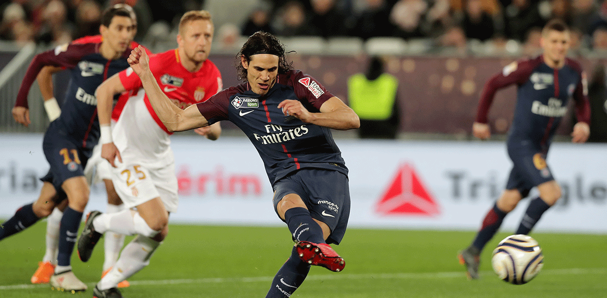 PSG goleó al Mónaco