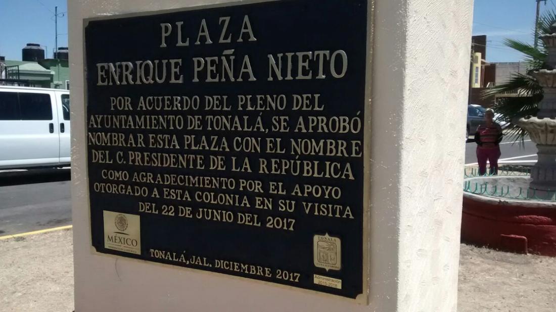 Plazoleta Enrique Peña Nieto