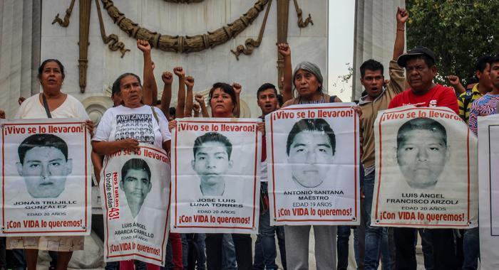 Protestas Ayotzinapa