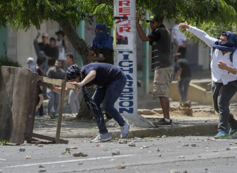 Protestas Nicaragua contra reformas de Daniel Ortega