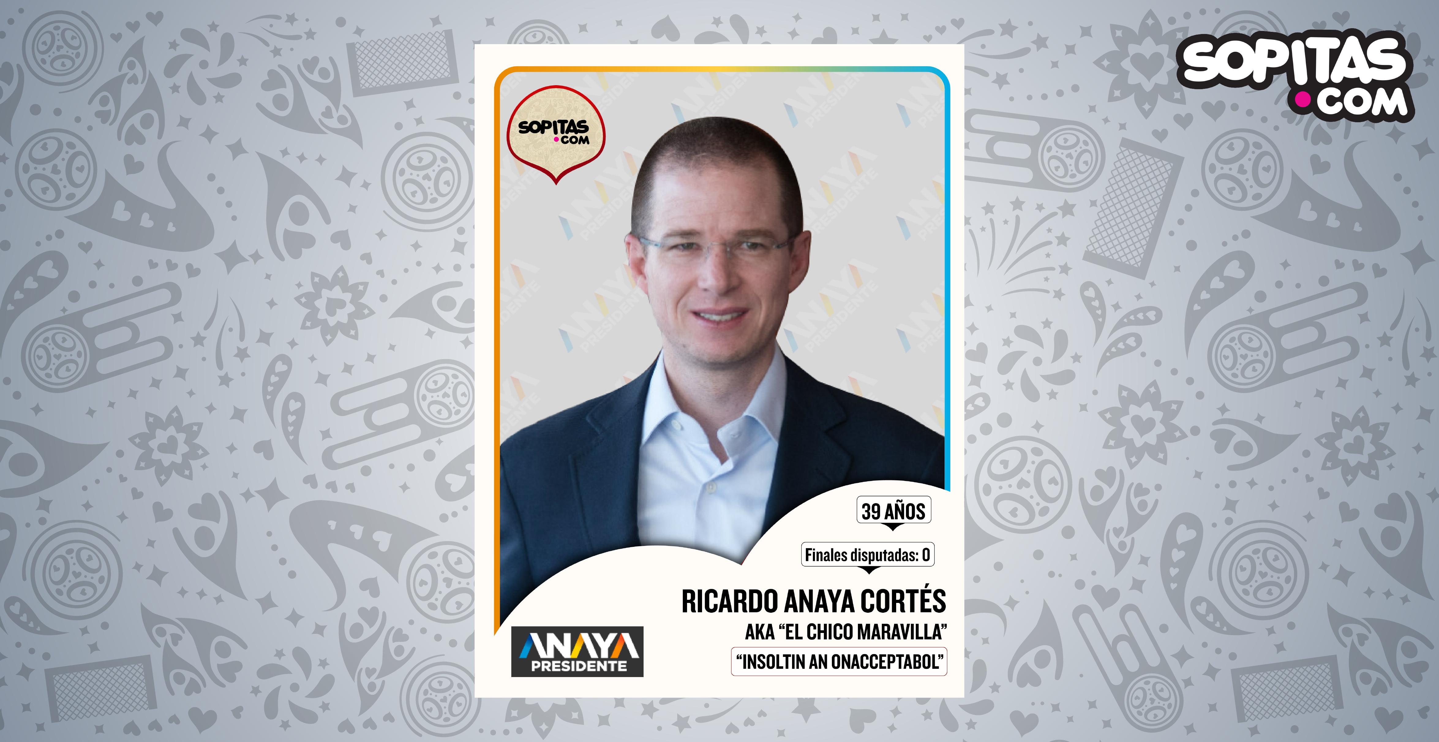 Ricardo Anaya Cortés Sopitas.com